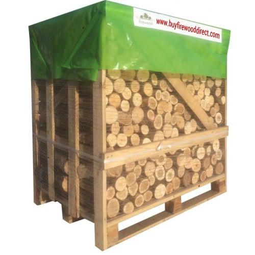 Flexi Crate Kiln Dried Unsplit Ash Logs