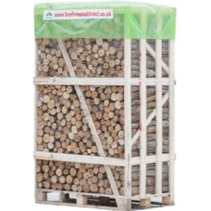 Extra Large Crate – Kiln Dried Un-split Ash Logs