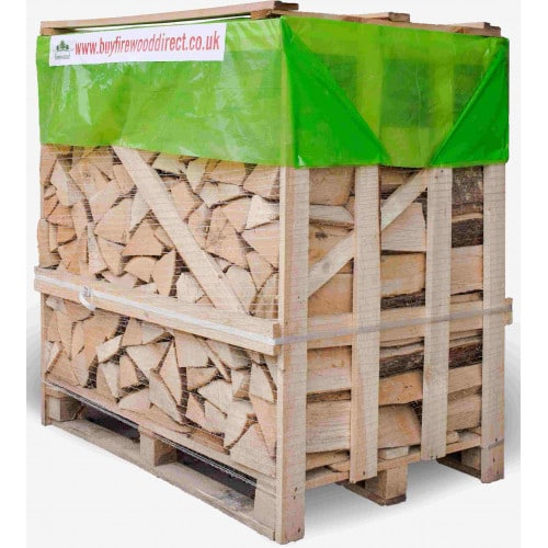 Flexi Crate – Kiln Dried Ash & Oak Logs