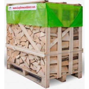 Flexi Crate – Kiln Dried Ash Logs