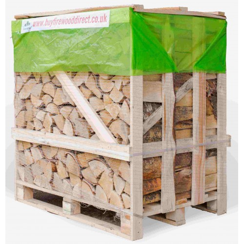 Flexi Crate – Kiln Dried Birch Logs