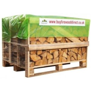 Standard Crate – Kiln Dried Birch Logs