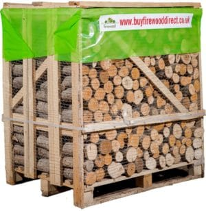 Flexi Crate Kiln Dried Mixed Unsplit Logs