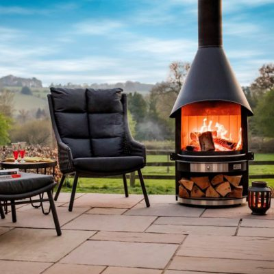 Outdoor Wooden Stove