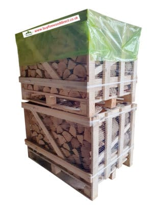 Double Stack – Kiln Dried Birch Logs
