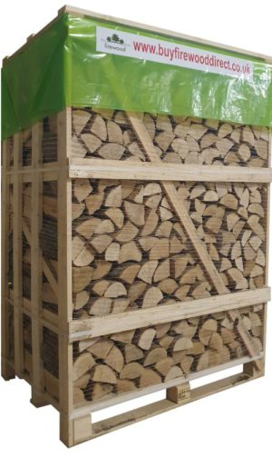 Large Crate – Kiln Dried Ash Logs