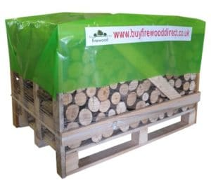Standard Crate – Kiln Dried Ash Unsplit Logs