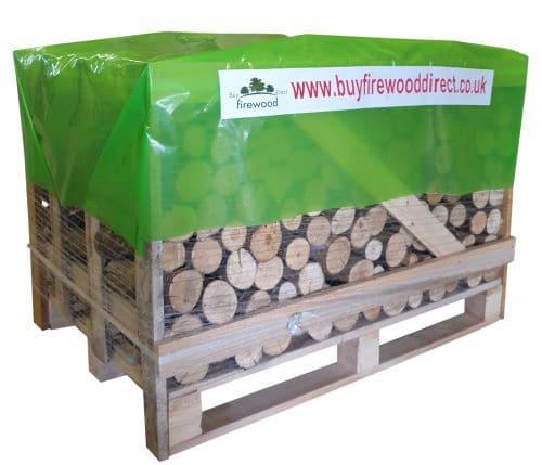 Standard Crate – Kiln Dried Ash Unsplit Logs