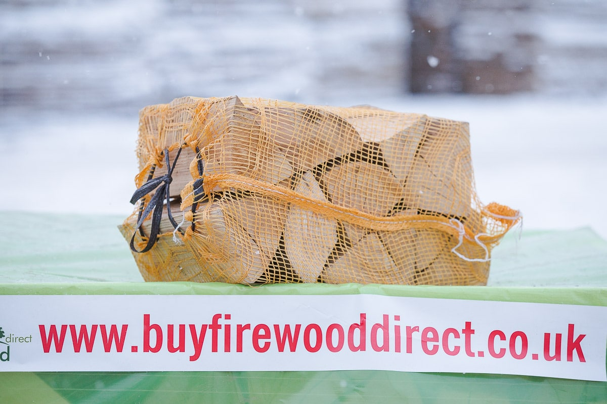 NETTED BAGS FIREWOOD